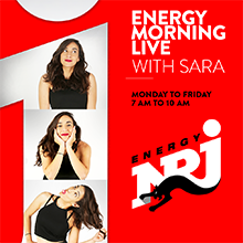 NRJ MORNING LIVE WITH SARA