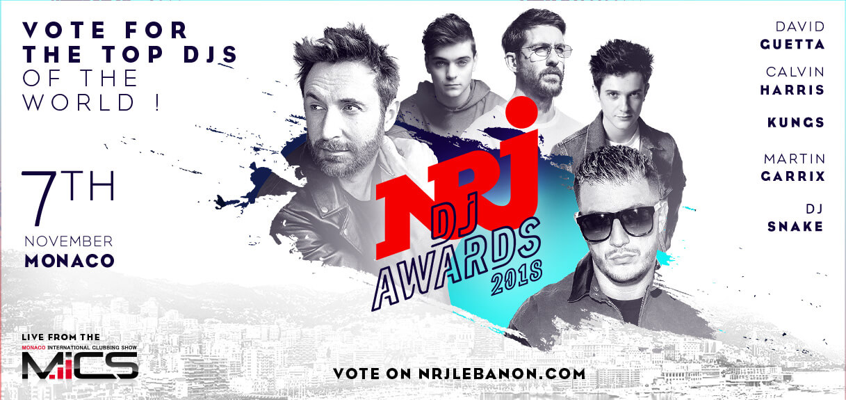 NRJ DJ Awards 2018 Visual