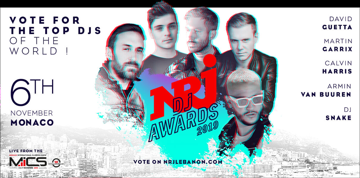 NRJ DJ Awards 2019 Visual