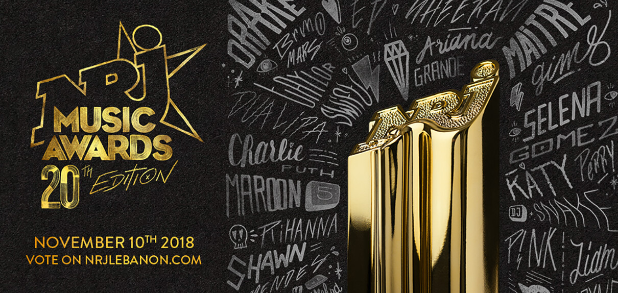 NRJ Music Awards 2018 Visual